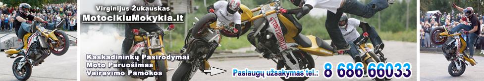 Motociklų Mokykla pradedantiems ir ekstremalaus vairavimo mėgėjams. Viskas Apie Motociklus ir jų dalys bei Stunt Riding Paruošimas Saugiam Važiavimui Britva Motociklu